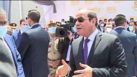 السيسي: أيادي مصر ممدودة إلى المجتمع الدولي لدعم لبنان