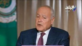 أبو الغيط يؤكد ضرورة الحفاظ على الزخم الدولي المساند للبنان