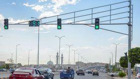 إشارة رقمية لتأمين عبور المشاة بطريق الإسكندرية الزراعي