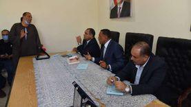 """دعم """"قرى البنجر"""" بمطروح بأعمدة وكشافات إمارة"""