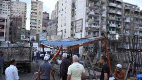 محافظ الإسكندرية يأمر بإزالة منافذ بيع عشوائية بمزلقان سيدي بشر