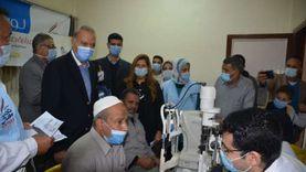 """انطلاق المبادرة الرئاسية """"نور حياة"""" لمكافحة العمى في قرى طوخ"""