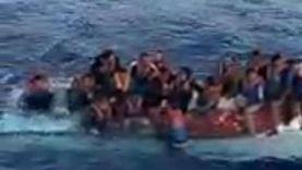 غرق 11 مهاجرا في انقلاب قارب قبالة ليبيا