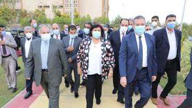 شكوك حول إصابة محافظ المنوفية ووزيرة الثقافة بفيروس كورونا