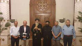 البابا يستقبل اللجنة الإدارية لكنيسة العذراء أرض الجولف