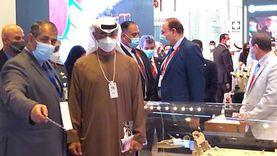 بن زايد يشيد بجناح «الإنتاج الحربي» في معرض «2021 IDEX» بأبو ظبي
