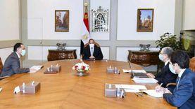 الرئيس يتابع المشروعات القومية لوزارة الكهرباء على مستوى الجمهورية