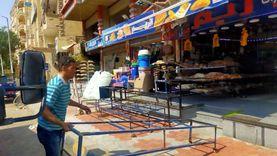 إيقاف 6 حالات تحويل من سكني لتجاري بهضبة الأهرام وسحب المعدات