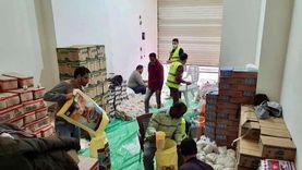 «شباب الخير» يوزعون 300 «شنطة رمضان» في مطروح