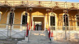 تكثيف العمالة بمشروع متحف قناة السويس في الإسماعيلية