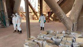 اتفاقية للتخلص من 35 طن مبيدات ضارة موجودة في الموانئ المصرية