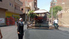 محافظ أسيوط يطالب برد الشيء لأصله بعد رصف شوارع القوصية