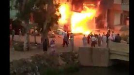 عاجل.. حريق في مخزن محطة بنزين بمدينة نصر والدفع بـ6 عربات إطفاء