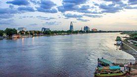 الري السودانية تدعو مواطني الخرطوم لتوخي الحذر بسبب فيضان النيل