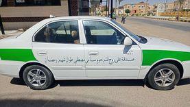 «تاكسي الخير».. صدقة جارية لنقل مرضى وفقراء مدينة الطور في رمضان