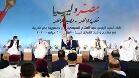 عاجل.. السيسي: نرفض التدخل الخارجي في ليبيا ولن نقف مكتوفي الأيدي