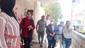 """نائب محافظ الجيزة يتفقد لجان انتخابات """"الشيوخ"""" بمدرسة وحدة أم خنان"""