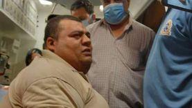 جنازة المواطن محمود سمير  الشهير بـ«مريض السمنة المفرطة» بالمحلة