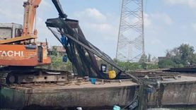 حملة لإزالة الأقفاص السمكية بنهر النيل بدسوق