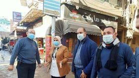 حملات لرفع مياه الأمطار وضبط غير الملتزمين بإجراءات الوقاية في دسوق
