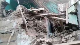 انهيار عقار في مدينة مغاغة بالمنيا دون إصابات