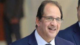 عباس كامل ووزيرة الصحة يفتتحان المركز الطبي المصري بجنوب السودان