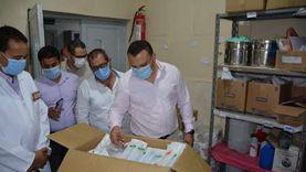 محافظ الدقهلية ونائبه يتفقدان مستشفيات الكردي وميت سلسيل