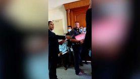 مشادات بين 9 مرشحين على رقم 1 خلال الترشح لمجلس النواب بمحكمة بورسعيد