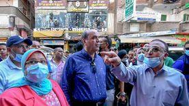 محافظ الإسكندرية يقود حملة للقضاء على فوضى إعلانات الكورنيش