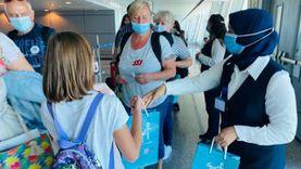 مطار القاهرة يستقبل 76 رحلة بـ8351 راكبا