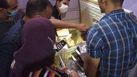 """إعدام أغذية فاسدة وإغلاق منشأة في حملة لـ""""صحة البحر الأحمر"""""""