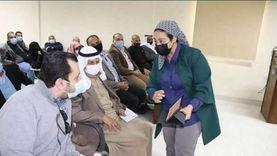 نائب محافظ جنوب سيناء تستعرض المخطط الاستراتيجي لمدينة أبورديس