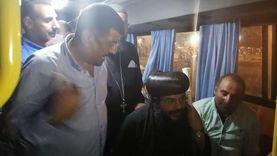 صور.. كنيسة الجونة تحشد المواطنين للتصويت قبل غلق اللجان بدقائق