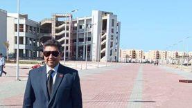 رئيس جامعة دمياط يتفقد تنفيذ أعمال الإنشاءات الجديدة