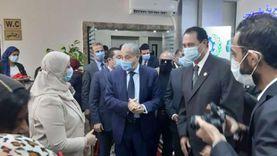 وزير التموين يفتتح مكتب السجل التجارى النموذجي بالسويس