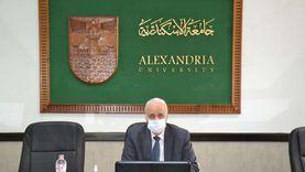 رئيس جامعة الإسكندرية يدعو منتسبيها للمشاركة في انتخابات الشيوخ