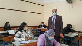 98.4% نسبة الحضور في امتحانات الأول الإعدادى ببورسعيد