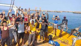 السعودية تفرج عن مركب صيد مصري على متنه 35 صيادا من الدقهلية