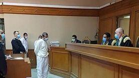 بدء جلسة محاكمة المتهمين بقتل فتاة المعادي