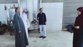 توزيع تقاوي القمح والشعير بنصف الثمن على مزارعي رأس سدر