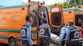 إصابة 4 أشخاص من أسرة واحدة في حادث انقلاب سيارة بالعريش