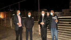 محافظ جنوب سيناء يتفقد محطة تموين ومركز لتحويل السيارت بشرم الشيخ