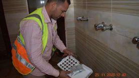 """""""مياه الفيوم"""" تبدأ تركيب 4500 قطعة موفرة بالمساجد والكنائس"""