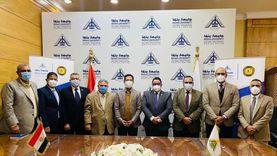 بروتوكول تعاون مشترك بين جامعة بنها ومعهد إعداد القادة في حلوان