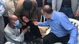 """دفنت """"عثمان"""" وتنتظر جثمان """"شادي"""".. مأساة والدة ضحايا شاطئ النخيل"""