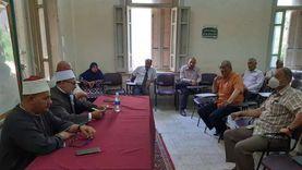 """""""المنيا الأزهرية"""" تناقش استعدادات الدراسة والإجراءات الوقائية ضد كورونا"""