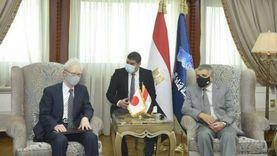 رئيس هيئة قناة السويس: نتطلع لتعاون مشترك مع اليابان