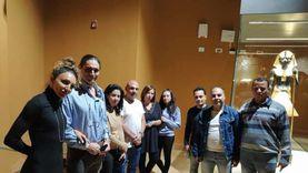 القنصل الفخري لإيطاليا يتفقد صالات العرض بمتحف شرم الشيخ