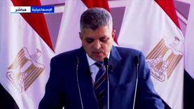 ربيع: السيسي شهد رفع العلم فوق الكراكة الجديدة مهاب مميش