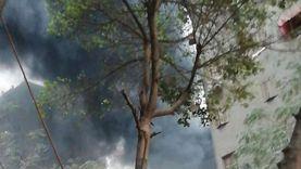 النيابة تنتقل لمعاينة حريق دائري البساتين.. وتنتدب المعمل الجنائي